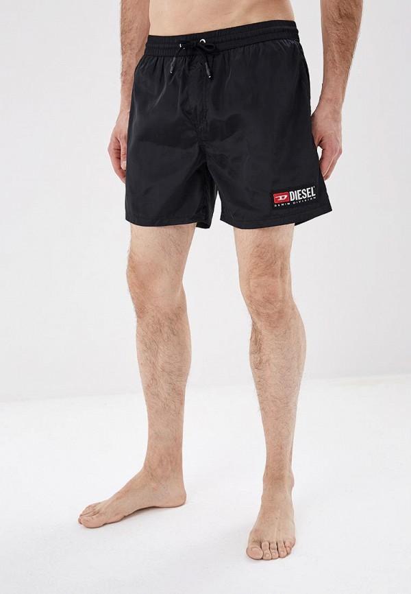 мужские повседневные шорты diesel, черные