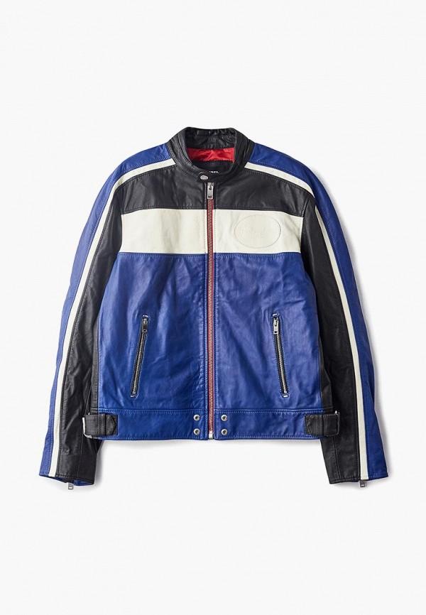 Куртка кожаная Diesel Diesel DI303EMDZEI2 куртка diesel 00s11g 0taqf 5av