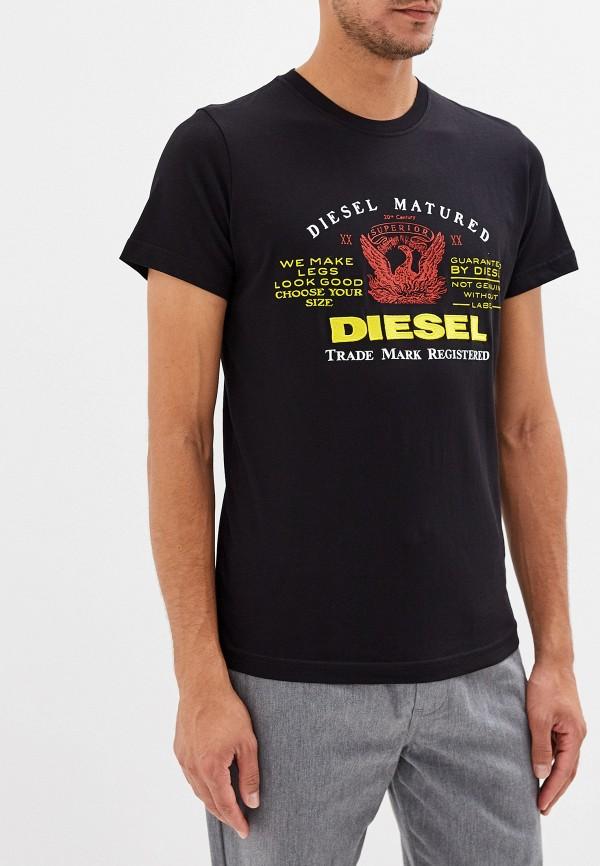 Футболка Diesel Diesel DI303EMFEYK7 diesel diesel dz1720