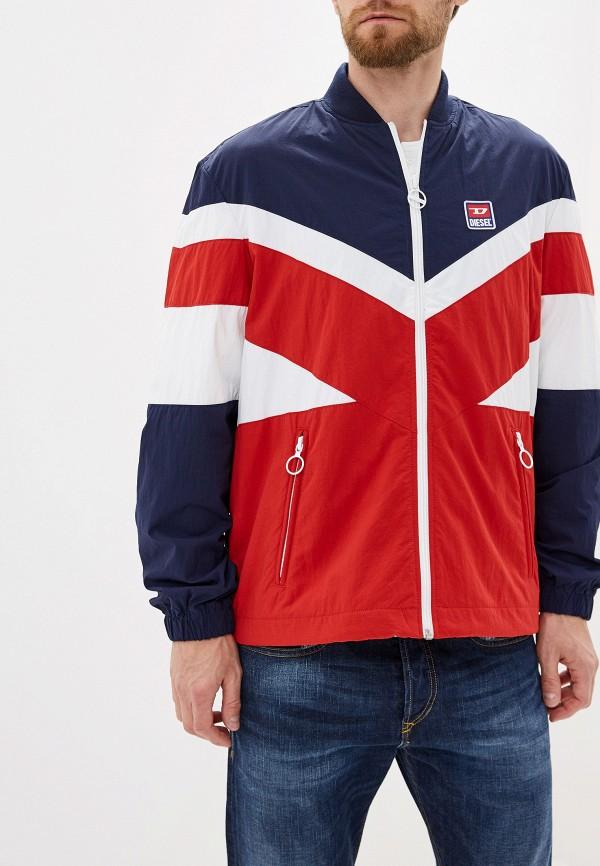 мужская куртка diesel, разноцветная