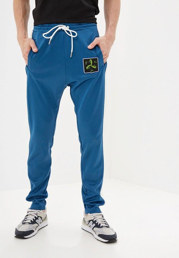 мужские спортивные спортивные брюки diesel, синие
