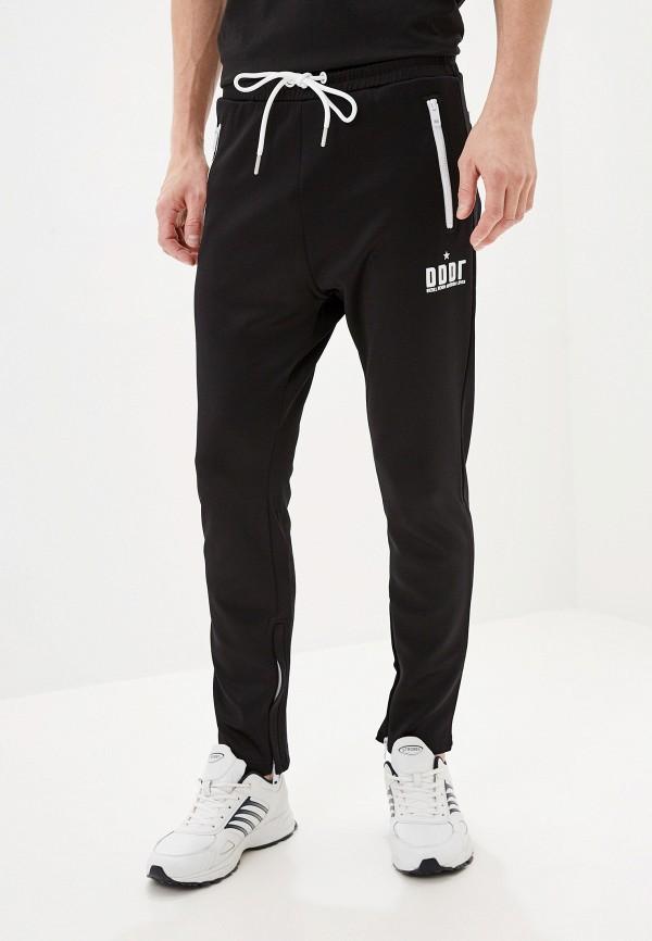 мужские спортивные спортивные брюки diesel, черные