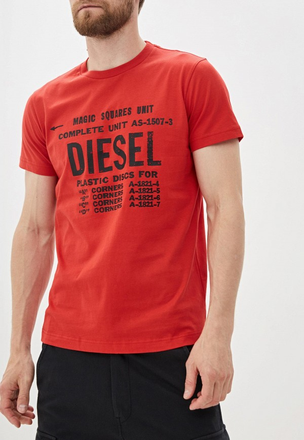 купить Футболка Diesel Diesel DI303EMFTNT6 по цене 2999 рублей