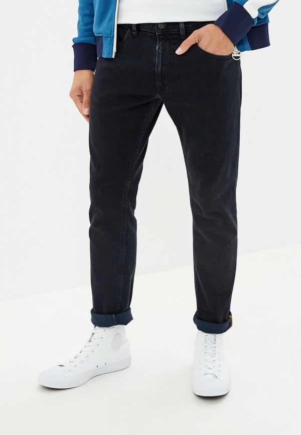 мужские зауженные джинсы diesel, серые