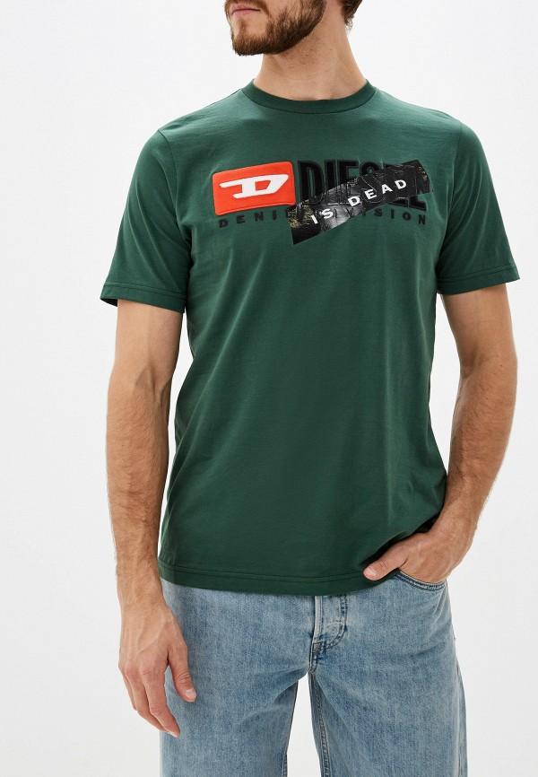 Футболка Diesel Diesel DI303EMGUAW9 цены