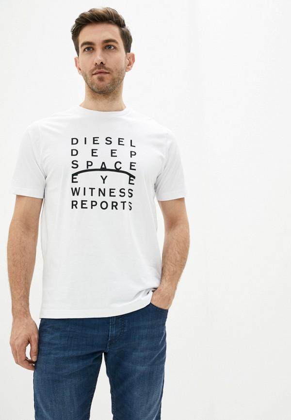 купить Футболка Diesel Diesel DI303EMHHNB8 дешево