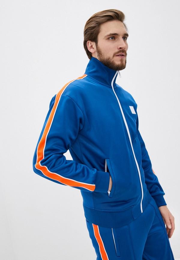 мужская олимпийка diesel, синяя