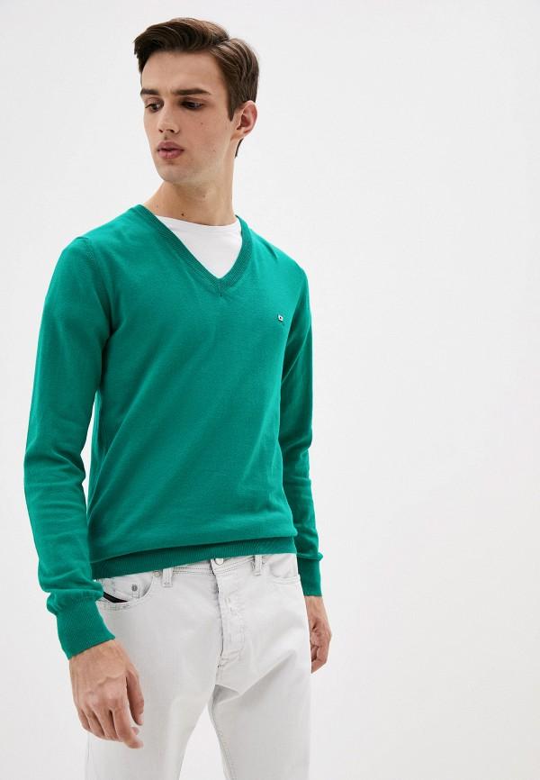 мужской пуловер diesel, зеленый