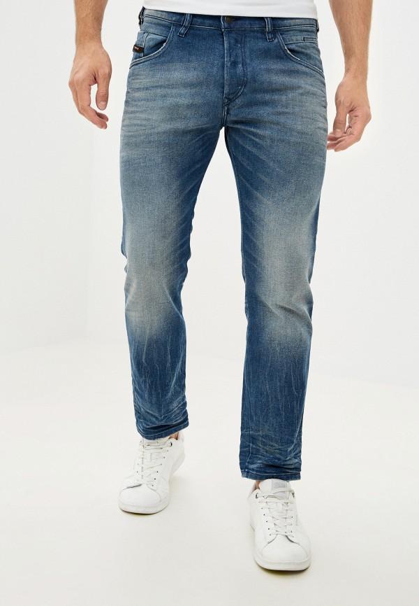 мужские прямые джинсы diesel, серые