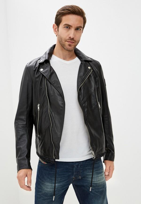 мужская куртка diesel, черная