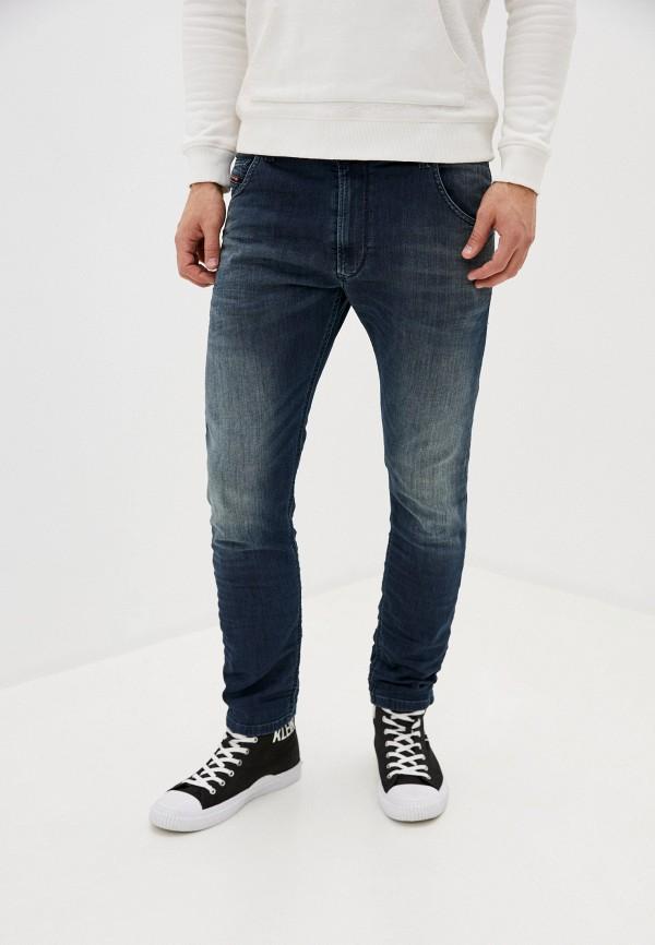 мужские прямые джинсы diesel, синие