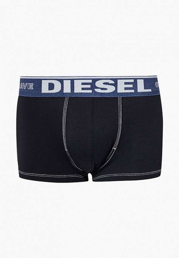 мужские трусы-боксеры diesel, черные