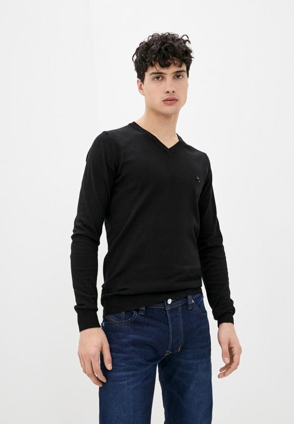 мужской пуловер diesel, черный