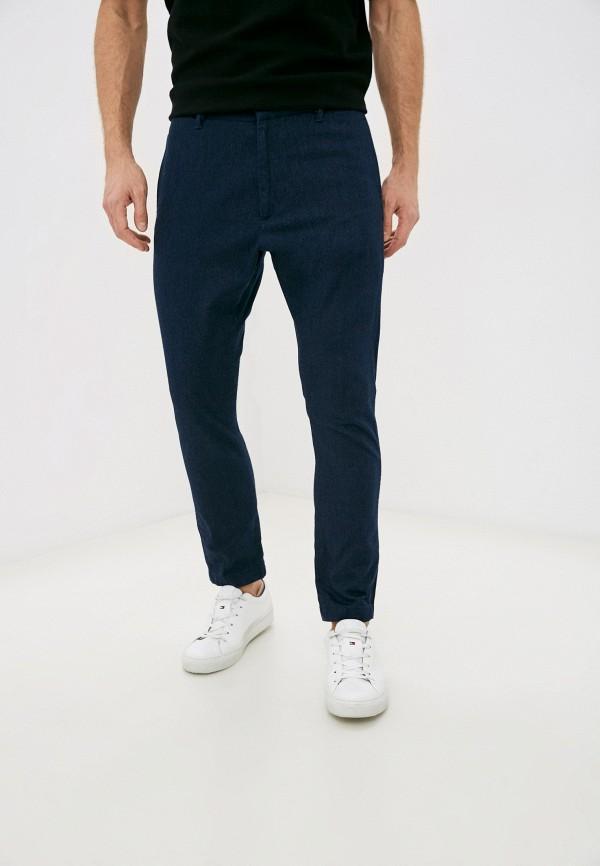 мужские повседневные брюки diesel, синие