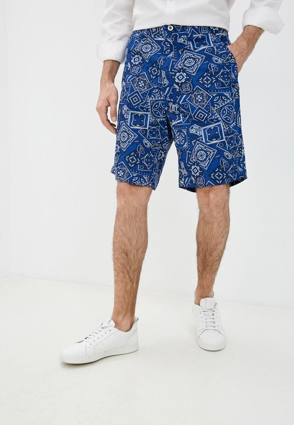 мужские повседневные шорты diesel, синие