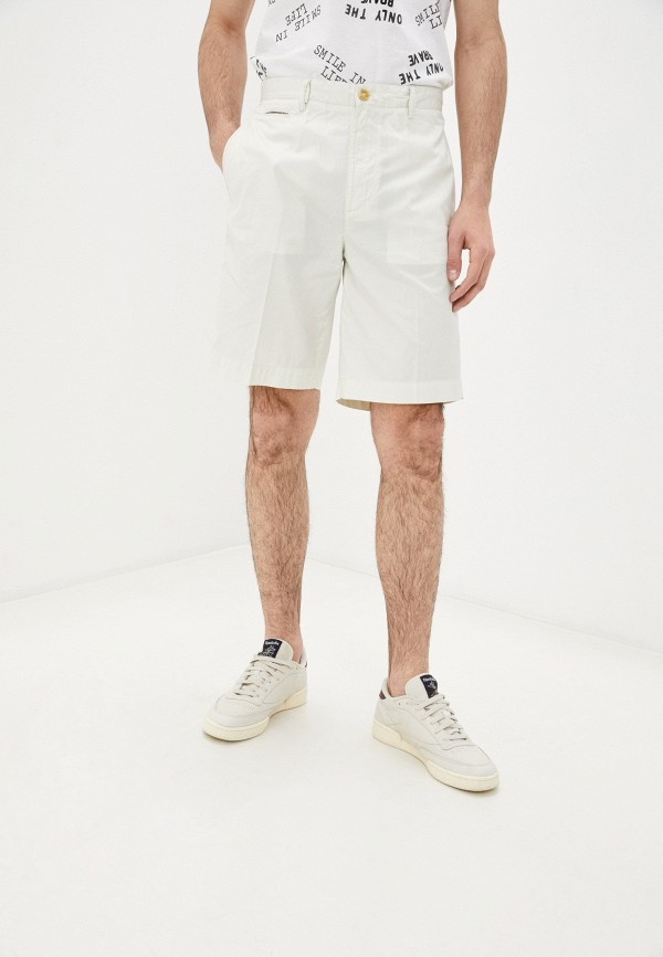 мужские повседневные шорты diesel, белые