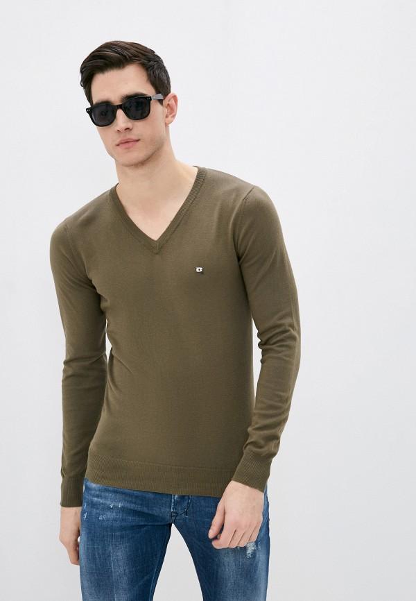 мужской пуловер diesel, хаки