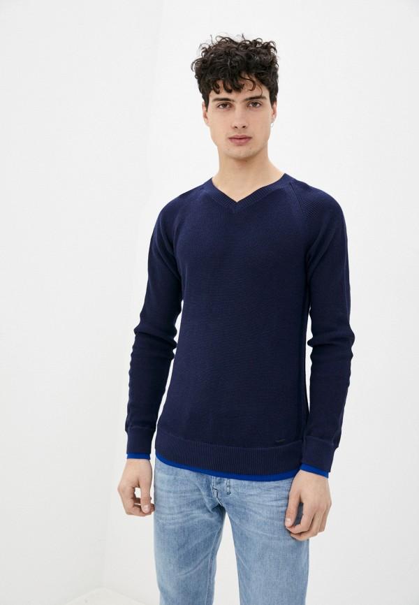 мужской пуловер diesel, синий