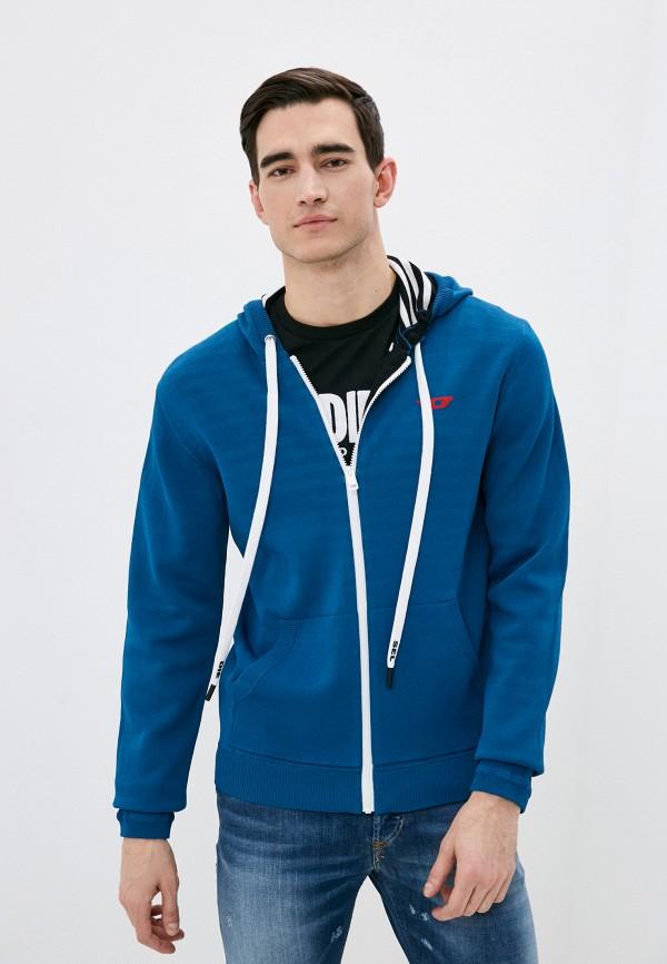 мужской кардиган diesel, синий