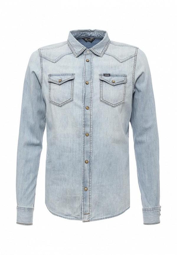 Рубашка джинсовая Diesel Diesel DI303EMRXT68 куртка джинсовая diesel diesel di303emaewq9