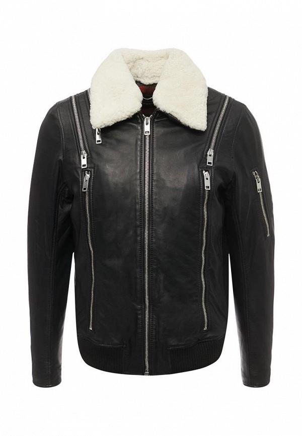 Куртка кожаная Diesel  DI303EMYUC29
