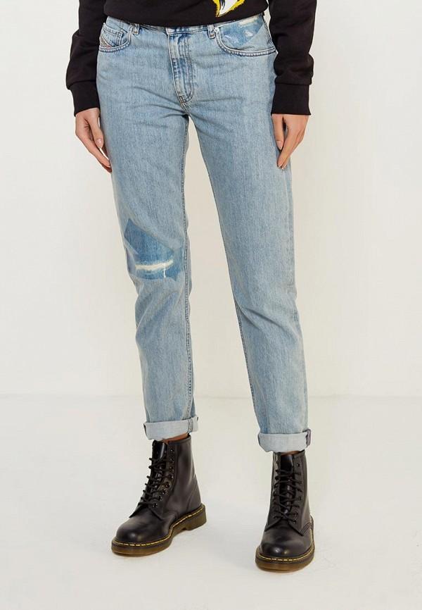 женские джинсы diesel, голубые