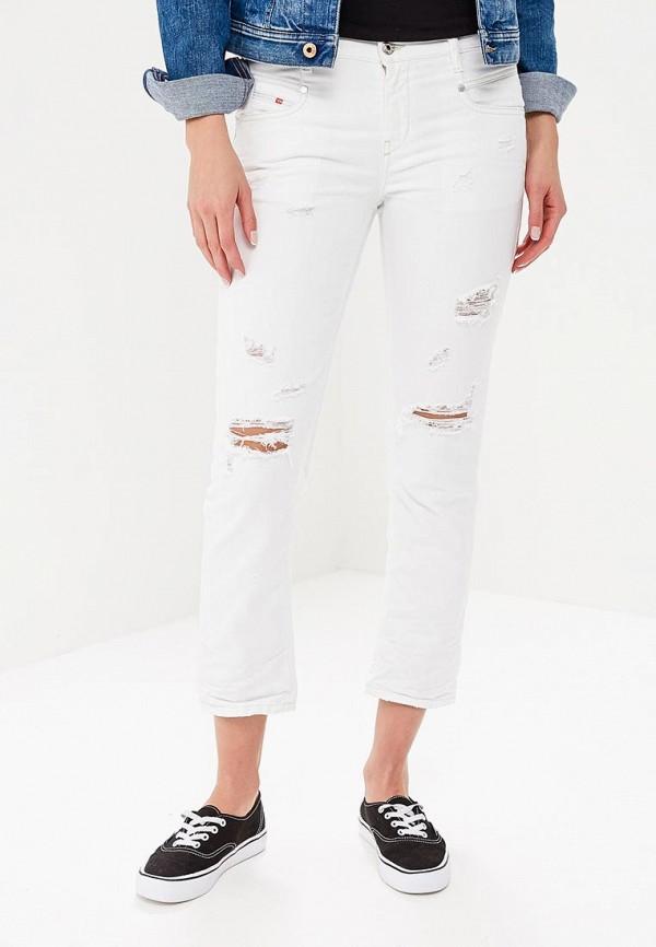 женские повседневные брюки diesel, белые