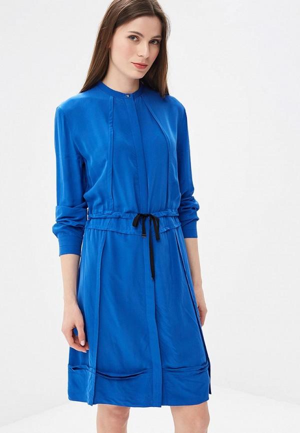 женское повседневные платье diesel, синее