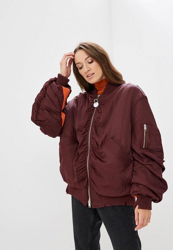 Купить Куртка утепленная Diesel, DI303EWBVFK3, бордовый, Осень-зима 2018/2019