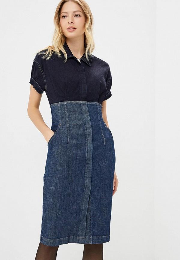 Платье джинсовое Diesel Diesel DI303EWCTNN4 все цены