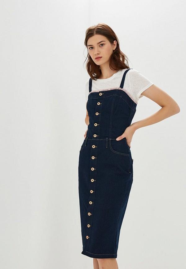Платье джинсовое Diesel Diesel DI303EWCTNQ8 все цены