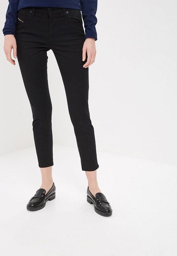 женские джинсы diesel, черные