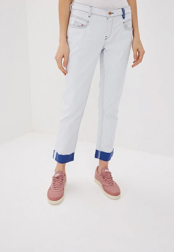 женские прямые джинсы diesel, белые
