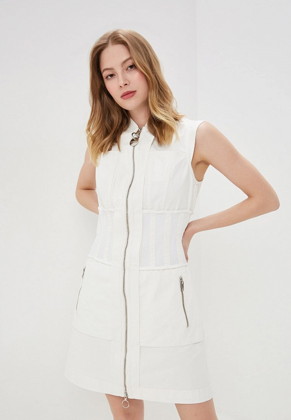 купить Платье джинсовое Diesel Diesel DI303EWFEXK1 по цене 12080 рублей