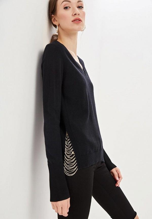 женский пуловер diesel, черный