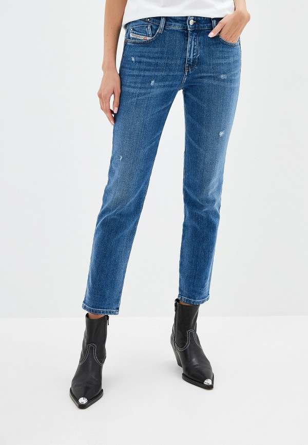 женские джинсы diesel, синие