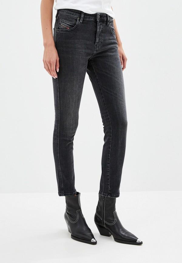 женские джинсы diesel, серые