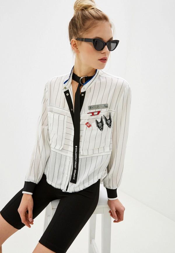 женская блузка diesel, белая
