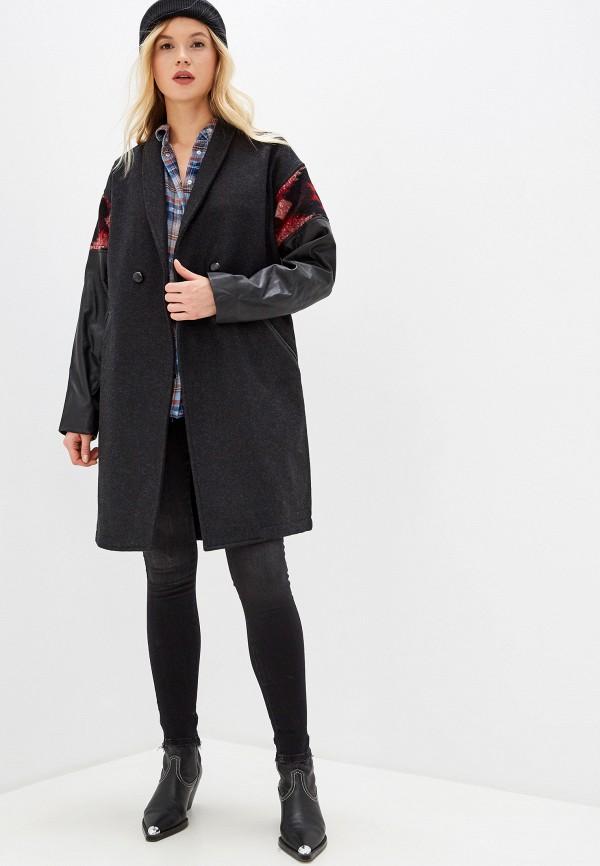 крупные, густомахровые, дизель пальто женское фото вверху