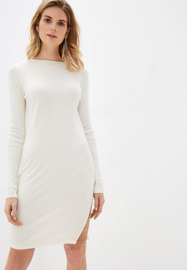 женское повседневные платье diesel, белое