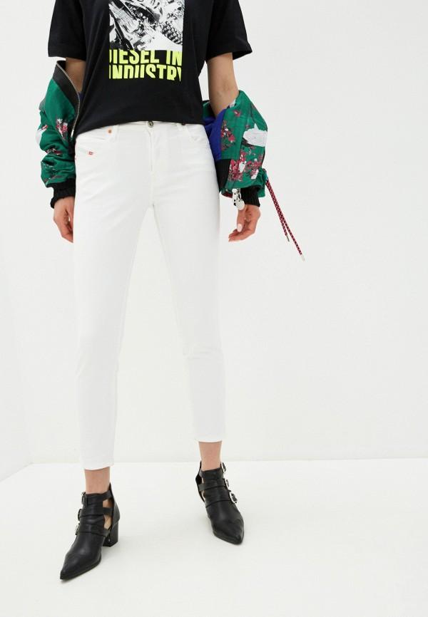 женские джинсы скинни diesel, белые