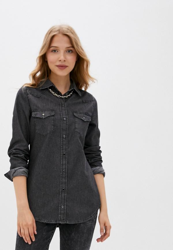 женская джинсовые рубашка diesel, серая