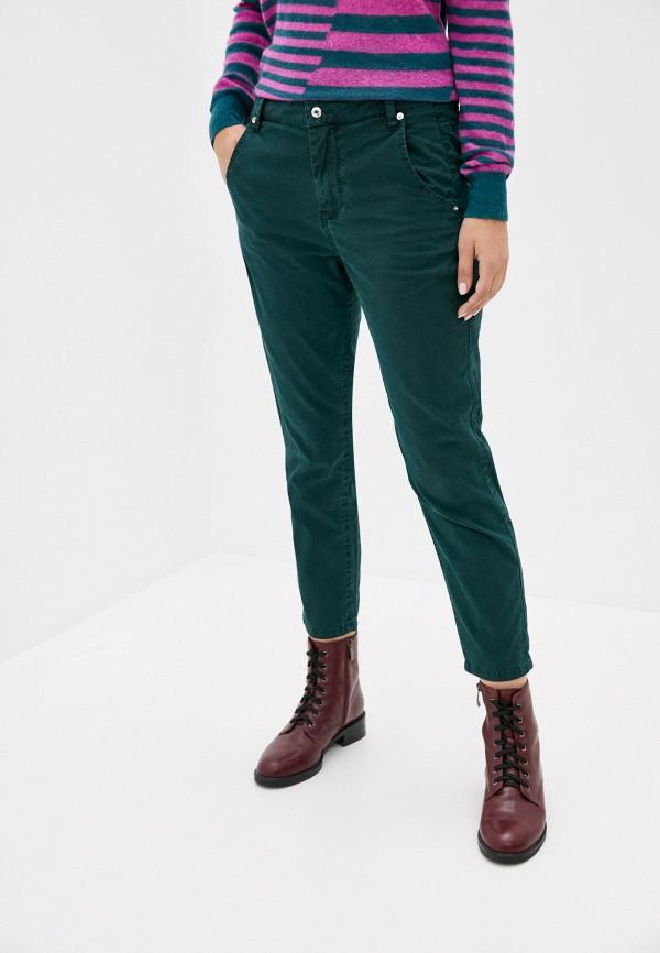 женские повседневные брюки diesel, зеленые