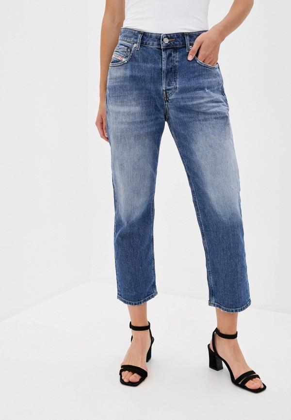 женские прямые джинсы diesel, серебряные