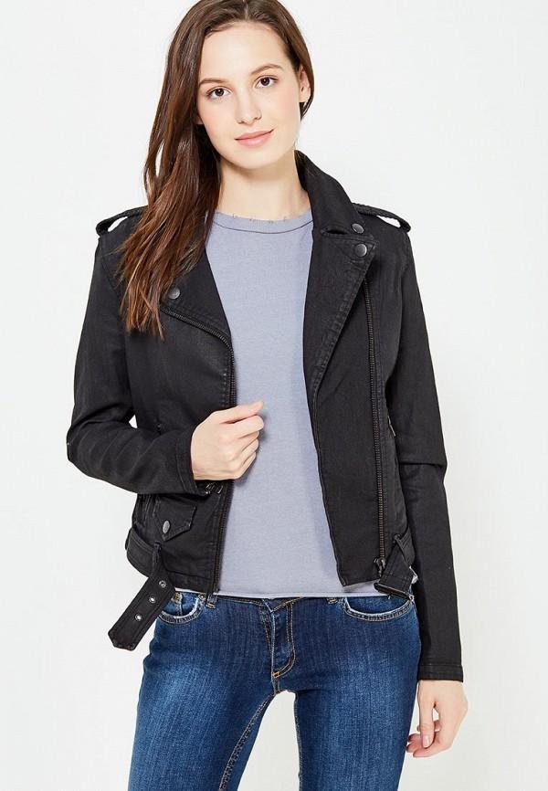 женская куртка diesel, черная