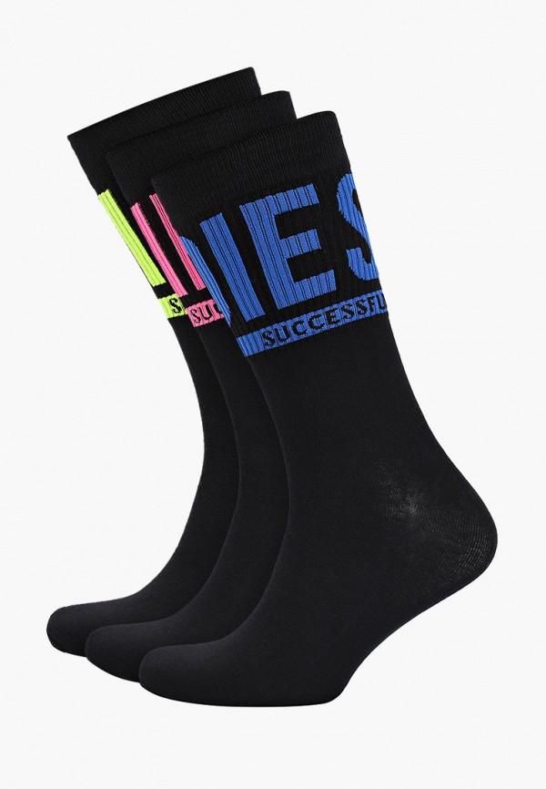 мужские носки diesel, черные
