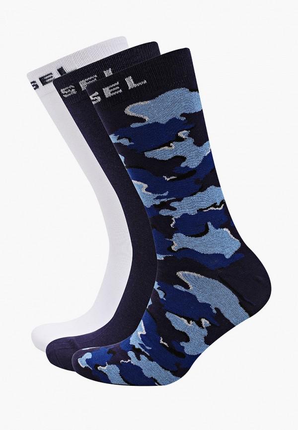 мужские носки diesel, синие