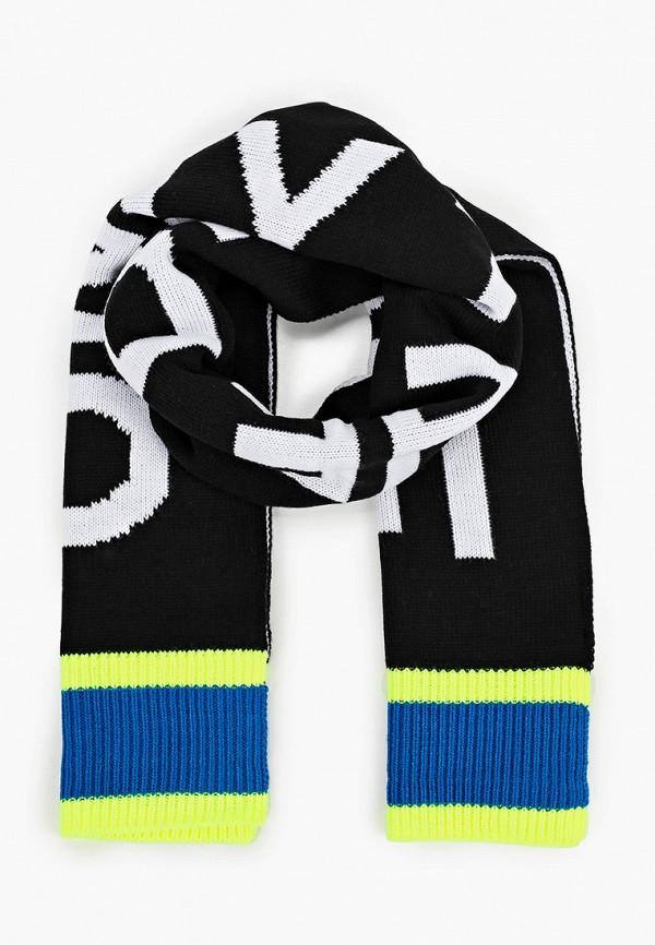 шарф diesel для мальчика, черный