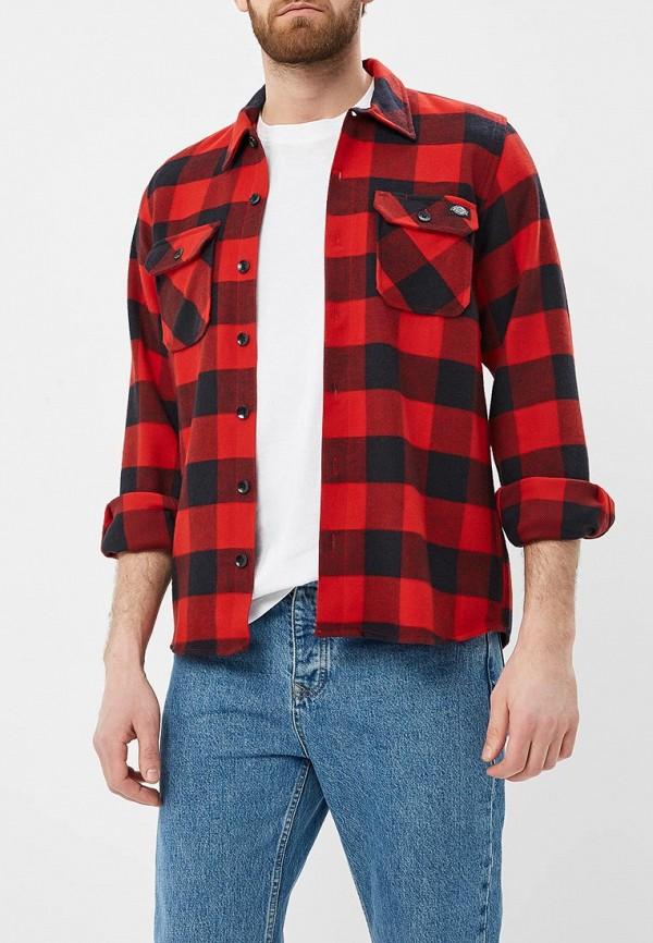 мужская спортивные рубашка dickies, красная