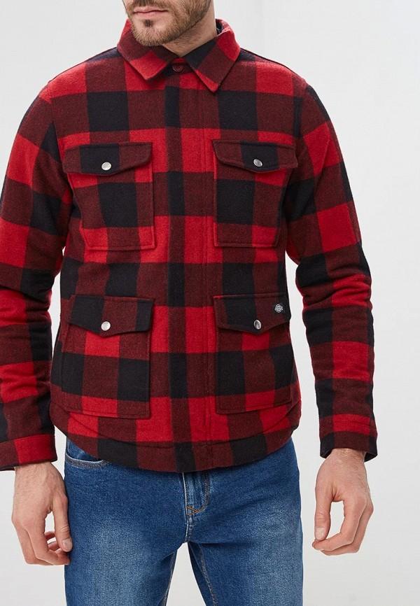 мужская куртка dickies, красная